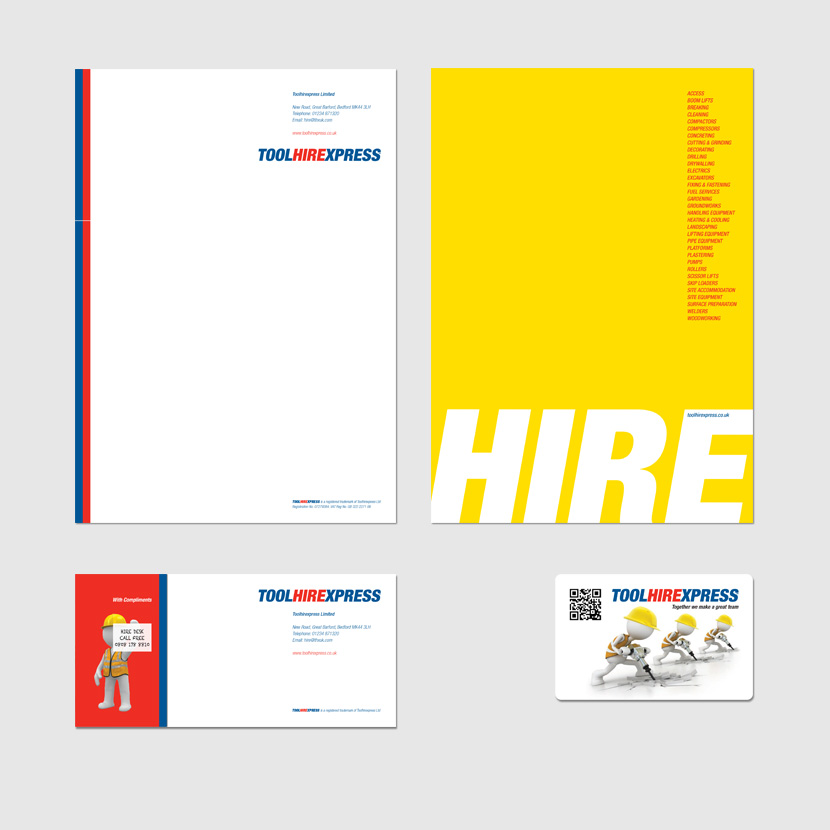Toolhirexpress Corporate Stationery. Updated 2014.