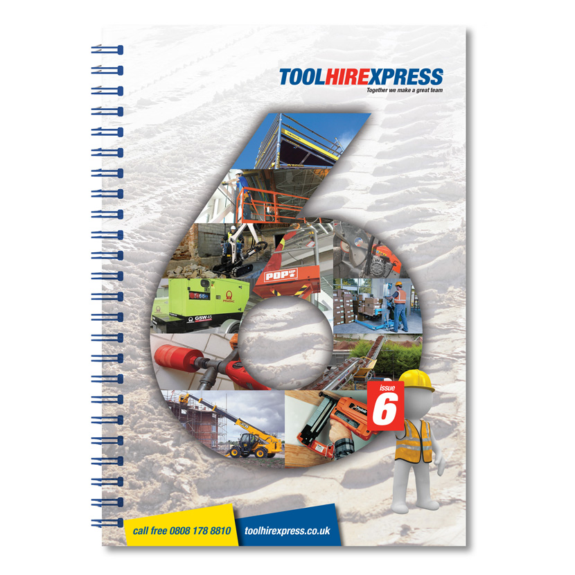Hire Catalogue Front Cover