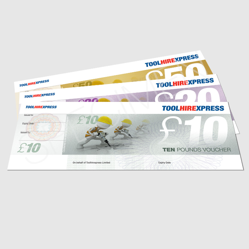 Customer Incentive Vouchers