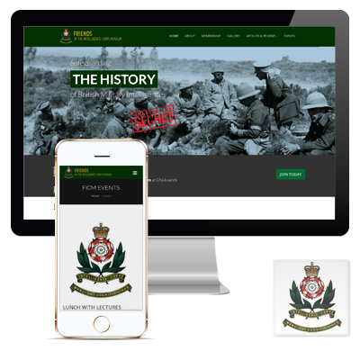 Friends of the Intelligence Corps Museum Responsive Website