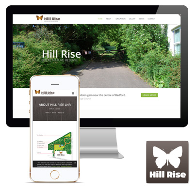 Hill Rise Nature Reserve Responsive Website